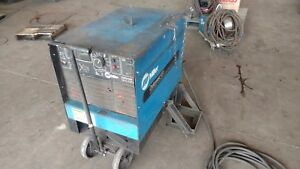 Miller Deltaweld Mig Welder 451 3 Phase With 24a Wire Feeder