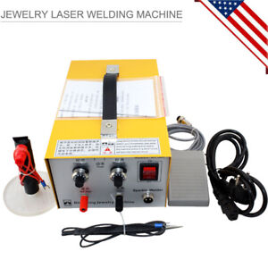 Pulse Sparkle Spot Welder Jewelry Welding Machine Gold Silver Platinum Us Ship
