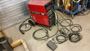 Lincoln Power Mig 300 Multiprocess Stick Tig Mig Pulse Welder