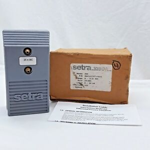 new Old Stock Setra Model 264 Differential Pressure Transducer