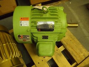 Hostile Duty Electric Motor 7 5 Hp 1760rpm 213tc Frame 230v 460v 3ph H314a 50