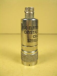 Rlc Electronics Cr 133 n 10 Mhz To 12 4 Ghz Crystal Detector