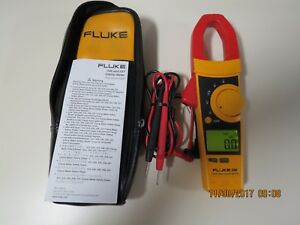 Fluke 336a True Rms Clamp Meter In Good Working Condition 336