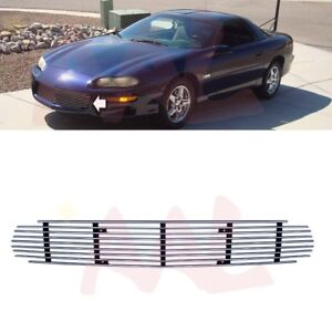 Aal For 1998 99 2000 01 02 2003 Chevy Camaro 1pc Bumper Billet Grille Insert