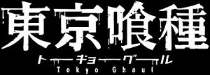 Tokyo Ghoul Logo Anime Decal Sticker For Car truck laptop