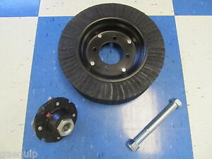 Land Pride Cutter Wheel Assembly W heavy Bearing Style Tailwheel Hub 3 4 Bolt