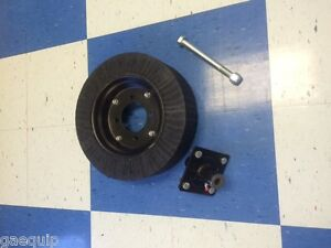 Howse Rotary Cutter mower Tailwheel Complete W friction Hub 1 Axle Bolt
