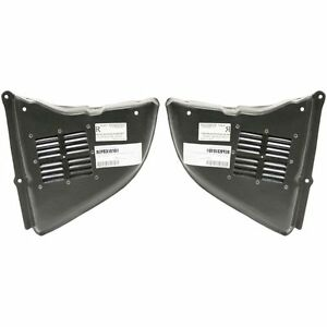 New Set Of 2 Right Left Side Engine Under Cover Splash Shields For Bmw 525i