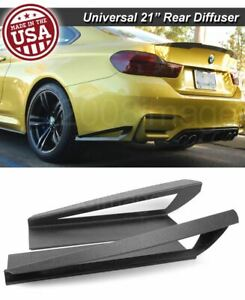 21 G3 Rear Bumper Lip Apron Splitter Diffuser Canard W Vent For Vw Porsch
