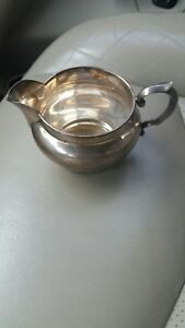 Rare Vintage Reed And Barton Sterling Silver Estate Auction Find Creamer X728
