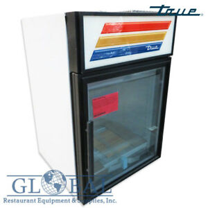 True 24 Glass Door Merchandiser Freezer Gdm 5f Frozen Dinner Veggies Ice Cream