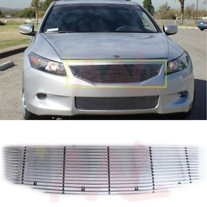 Aal For 2008 2010 Honda Accord Sedan Replacement Billet Grille Insert