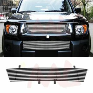Aal For 2003 2006 Honda Element Upper Billet Grille Insert w o Logo Cut out