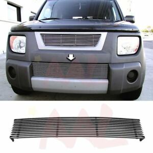 Aal For 2003 2006 Honda Element 1pc Bumper Billet Grille Insert Replacement