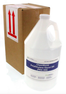 Chemworld Polyethylene Glycol peg 300 1 Gallon