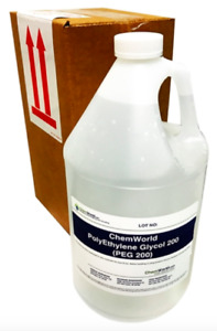 Chemworld Polyethylene Glycol peg 200 1 Gallon