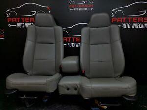 2009 Ford Ranger Regular Cab Vinyl Front Seats Gray Trim Code Qf 60 40 Split