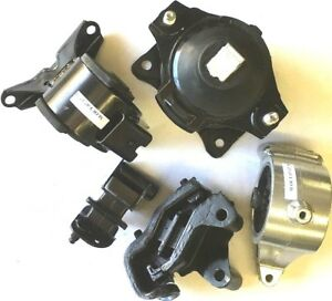 5pc Engine And Transmission Mount For 2010 2014 Fwd Honda Ridgeline Truck New