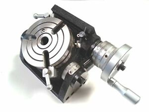 Precision Hv4 Tilting Rotary Table Milling Indexing Kit