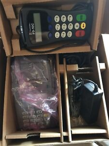 Used First Data Fd100 Credit Card Terminal W Fd 35 Pinpad