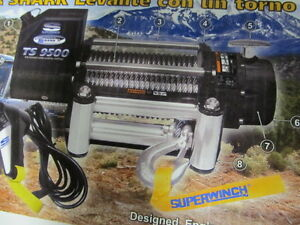 Superwinch Tiger Shark 9500 Winch 1595200 New In Box Factory Warrenty Ts9500