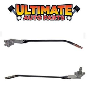 Windshield Wiper Linkage Transmission Set left Right For 90 02 Chevy Kodiak