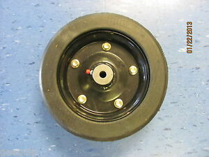 Landpride Finishing Mower Wheel 10 X 3 25 With 1 2 Axle Hole fits Many