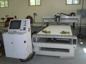 Techno Premium 5996 Cnc Router 4 X 8 18000rpm 7 hp T slotted Table