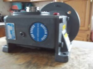 New In Box Boston Gear Hf724f5zvb9hp20 Right Angle Worm Gear Reducer Ratio 5 1