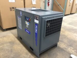 20 Hp Hertz Rotary Screw Air Compressor With 120 Gallon Air Receiver Tank