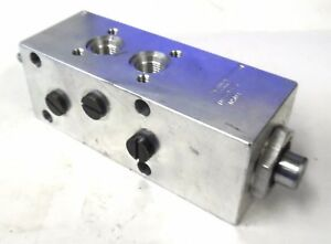 Brannon Hydraulics 700033 Valve Body 4 Way