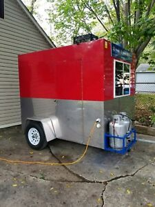 8 X 7 Concession Food Trailer Excellent Condition Make Money Now