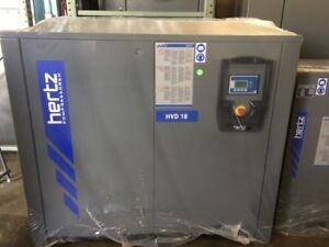 25 Hp Hertz Hvd 18 Variable Speed Rotary Screw Air Compressor