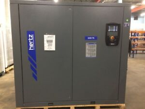 100 Hp Hertz Hvd 75 Variable Speed Rotary Screw Air Compressor