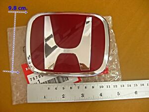 With For Honda Civic 2 Door 06 11 Si Dx Ex 02 08 Accord Front Emblem Nos Si1104