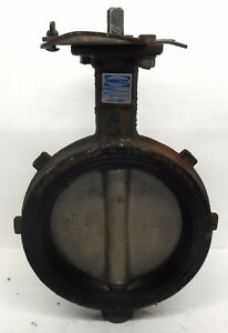 Nibco 6 Butterfly Valve Wd3122 250 Psi No Lever