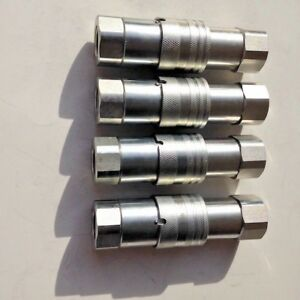 1 2 Npt Iso 16028 Ff Coupling Hydraulic Quick Disconnect Sms ff 08 4 Sets