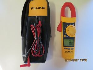 Fluke 337 True Rms Clamp Meter 337a In Excellent Condition