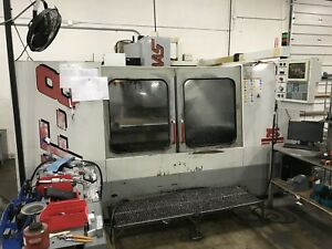 Haas Vf 8 Cnc Vmc 7500rpm Gearbox Thru Spindle Coolant Runs Great 1996