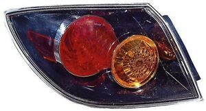 For 2004 2005 2006 Mazda 3 Hatch Back Tail Light Taillamp Driver Side