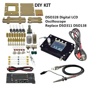 Atmega328p Dso328 1msps 200khz Bandwidth Oscilloscope Test Replace Dso138 Dso311
