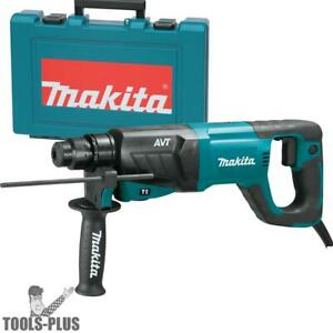 Makita Hr2641 1 Sds plus 3 mode Variable Speed Avt Rotary Hammer New