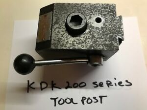 Kdk 200 Series Quick Change Lathe Tool Post 4 Holders