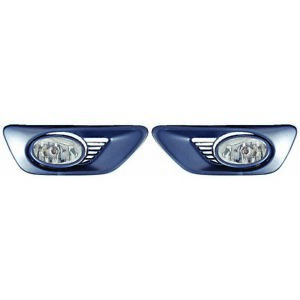 Ho2590108 Fits 2001 2002 Honda Accord Coupe Pair Of Fog Light W Switch harness