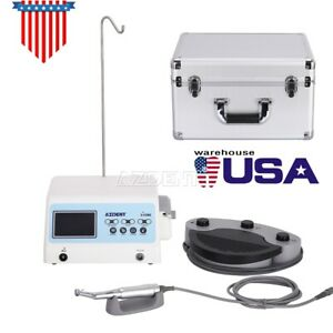 Azdent Dental Led Surgical Brushless Motor Implant System contra Angle Handpiece