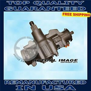Chevy Gmc Van 2500 3500 Steering Gear Box Assembly