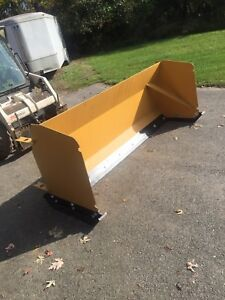 8ft Quick Attach Snow Pusher snow Box