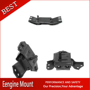 Westar auto Trans Engine Motor Mount Set 3x For 1999 2004 Mustang V6 3 8l At