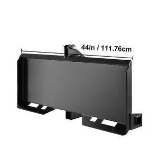 New 3 Point Attachment Adapter Skid Steer Trailer Hitch Front Loader Bobcat Des