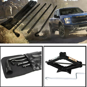 New Oem 2004 2014 Ford F 150 Lug Wrench Scissor Jack Carrier Case Spare Tire